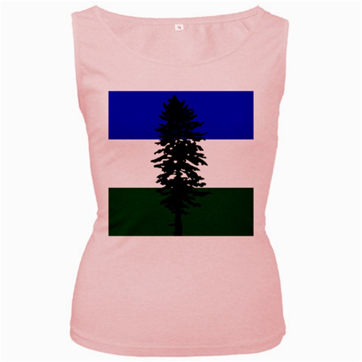 Flag of Cascadia Women s Pink Tank Top