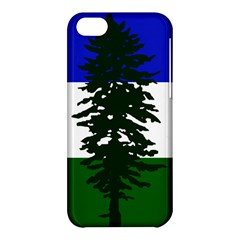 Flag Of Cascadia Apple Iphone 5c Hardshell Case by abbeyz71