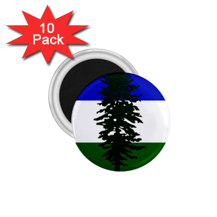 Flag of Cascadia 1.75  Magnets (10 pack)