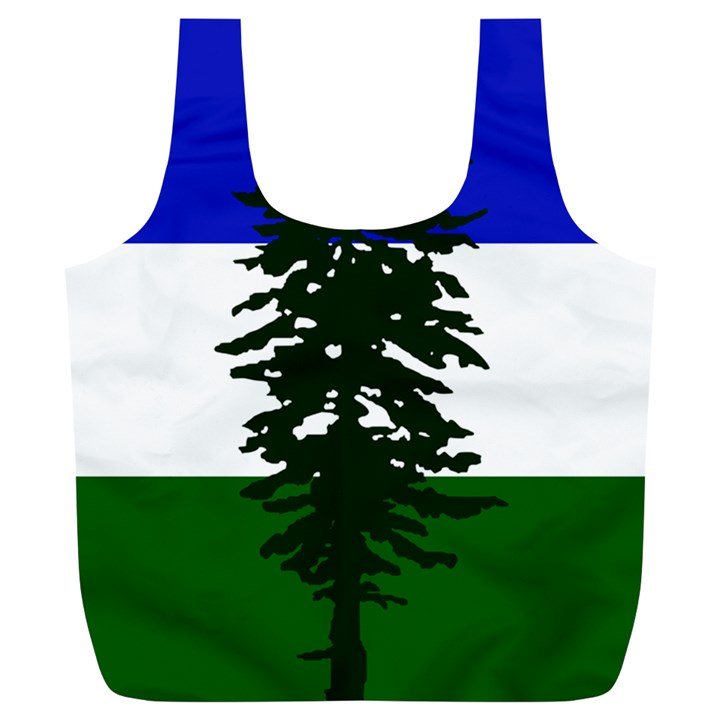 Flag of Cascadia Full Print Recycle Bags (L)