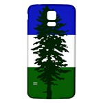 Flag of Cascadia Samsung Galaxy S5 Back Case (White) Front