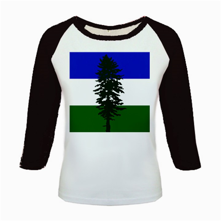 Flag of Cascadia Kids Baseball Jerseys