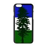 Flag of Cascadia Apple iPhone 6/6S Black Enamel Case Front