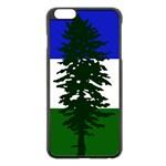 Flag of Cascadia Apple iPhone 6 Plus/6S Plus Black Enamel Case Front