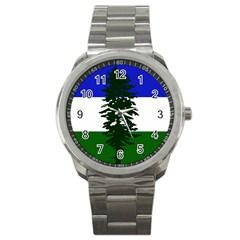 Flag Of Cascadia Sport Metal Watch by abbeyz71
