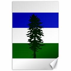 Flag Of Cascadia Canvas 20  X 30   by abbeyz71
