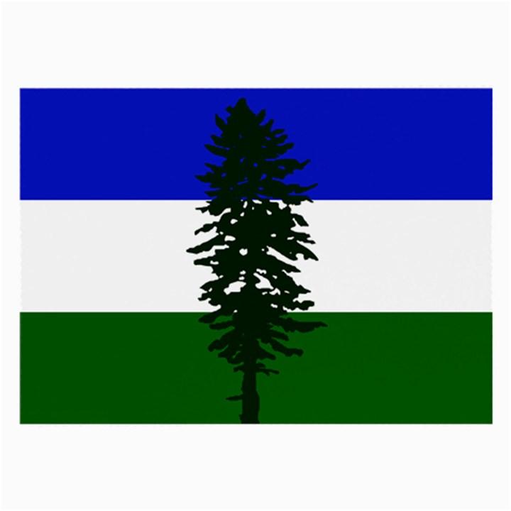 Flag of Cascadia Large Glasses Cloth (2-Side)