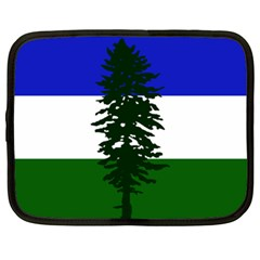 Flag Of Cascadia Netbook Case (xl)  by abbeyz71