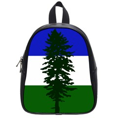 Flag Of Cascadia School Bag (small) by abbeyz71