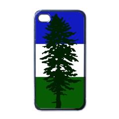 Flag Of Cascadia Apple Iphone 4 Case (black) by abbeyz71