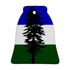 Flag Of Cascadia Ornament (bell) by abbeyz71