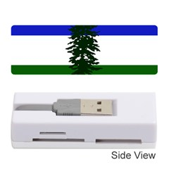 Flag Of Cascadia Memory Card Reader (stick)  by abbeyz71