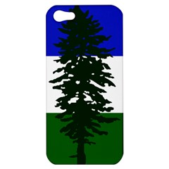 Flag Of Cascadia Apple Iphone 5 Hardshell Case by abbeyz71
