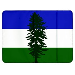Flag Of Cascadia Samsung Galaxy Tab 7  P1000 Flip Case by abbeyz71