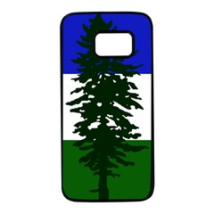 Flag Of Cascadia Samsung Galaxy S7 Black Seamless Case by abbeyz71