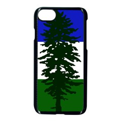 Flag Of Cascadia Apple Iphone 7 Seamless Case (black) by abbeyz71