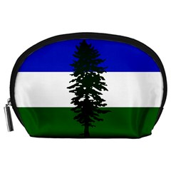 Flag Of Cascadia Accessory Pouches (large)  by abbeyz71