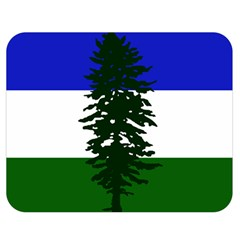 Flag Of Cascadia Double Sided Flano Blanket (medium)  by abbeyz71