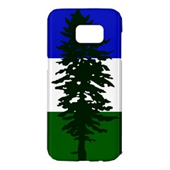 Flag Of Cascadia Samsung Galaxy S7 Edge Hardshell Case by abbeyz71