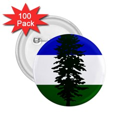 Flag Of Cascadia 2 25  Buttons (100 Pack)  by abbeyz71