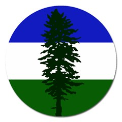 Flag Of Cascadia Magnet 5  (round) by abbeyz71