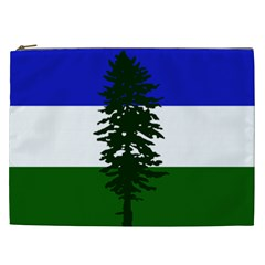 Flag Of Cascadia Cosmetic Bag (xxl)  by abbeyz71