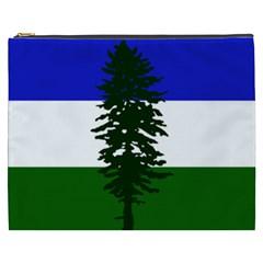 Flag Of Cascadia Cosmetic Bag (xxxl)  by abbeyz71