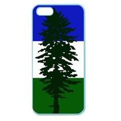 Flag Of Cascadia Apple Seamless Iphone 5 Case (color) by abbeyz71