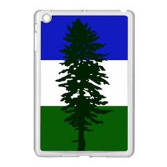 Flag Of Cascadia Apple Ipad Mini Case (white) by abbeyz71