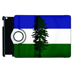 Flag Of Cascadia Apple Ipad 2 Flip 360 Case by abbeyz71