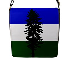 Flag Of Cascadia Flap Messenger Bag (l)  by abbeyz71