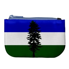 Flag Of Cascadia Large Coin Purse by abbeyz71