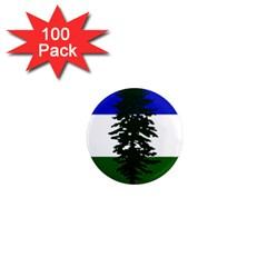 Flag 0f Cascadia 1  Mini Magnets (100 Pack)  by abbeyz71