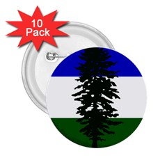 Flag 0f Cascadia 2 25  Buttons (10 Pack)  by abbeyz71