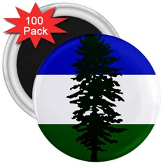 Flag 0f Cascadia 3  Magnets (100 Pack) by abbeyz71