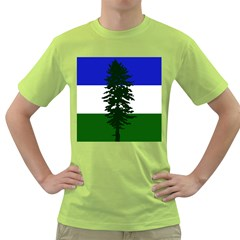 Flag 0f Cascadia Green T Shirt by abbeyz71