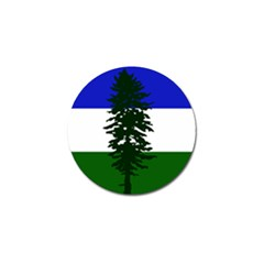Flag 0f Cascadia Golf Ball Marker by abbeyz71