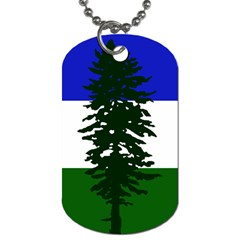Flag 0f Cascadia Dog Tag (two Sides) by abbeyz71