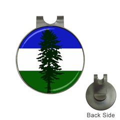 Flag 0f Cascadia Hat Clips With Golf Markers by abbeyz71