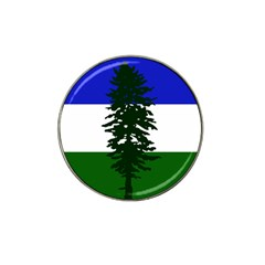 Flag 0f Cascadia Hat Clip Ball Marker by abbeyz71
