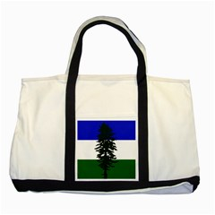 Flag 0f Cascadia Two Tone Tote Bag by abbeyz71