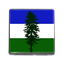 Flag 0f Cascadia Memory Card Reader (square) by abbeyz71