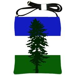Flag 0f Cascadia Shoulder Sling Bags by abbeyz71
