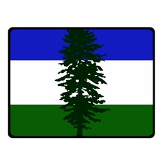 Flag 0f Cascadia Fleece Blanket (small) by abbeyz71