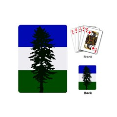 Flag 0f Cascadia Playing Cards (mini)  by abbeyz71