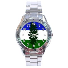 Flag 0f Cascadia Stainless Steel Analogue Watch by abbeyz71