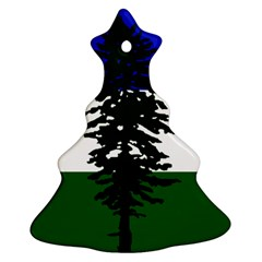 Flag 0f Cascadia Ornament (christmas Tree)  by abbeyz71
