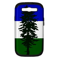 Flag 0f Cascadia Samsung Galaxy S Iii Hardshell Case (pc+silicone) by abbeyz71