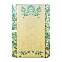 Art Nouveau Green Galaxy Note 1 by 8fugoso