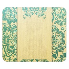 Art Nouveau Green Double Sided Flano Blanket (small)  by 8fugoso